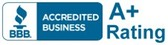 Leak Solutions is accredited and rated A+ by the Better Business Bureau.